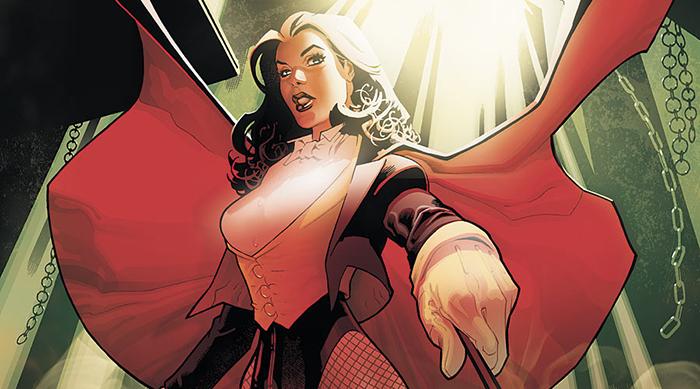 DC Comics character herp Zatanna Zatara