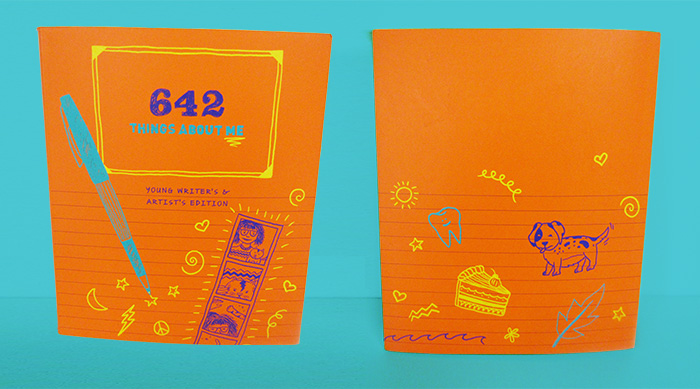 642 Things About Me book cover and back