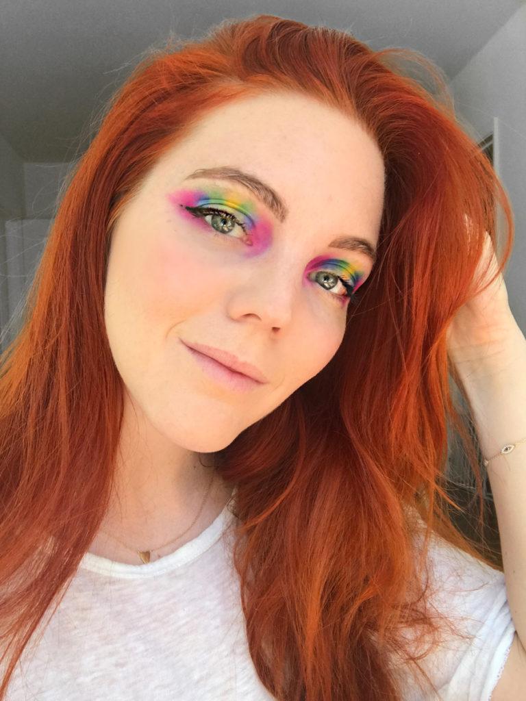 Final step eyeliner mascara