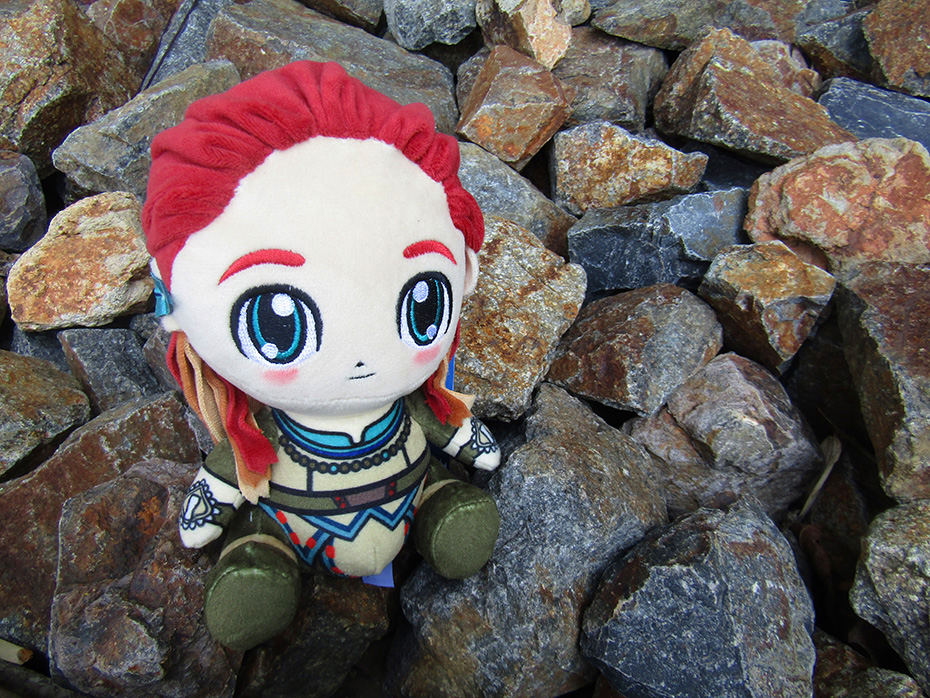 Stubbins Plush Aloy from Horizon Zero Dawn