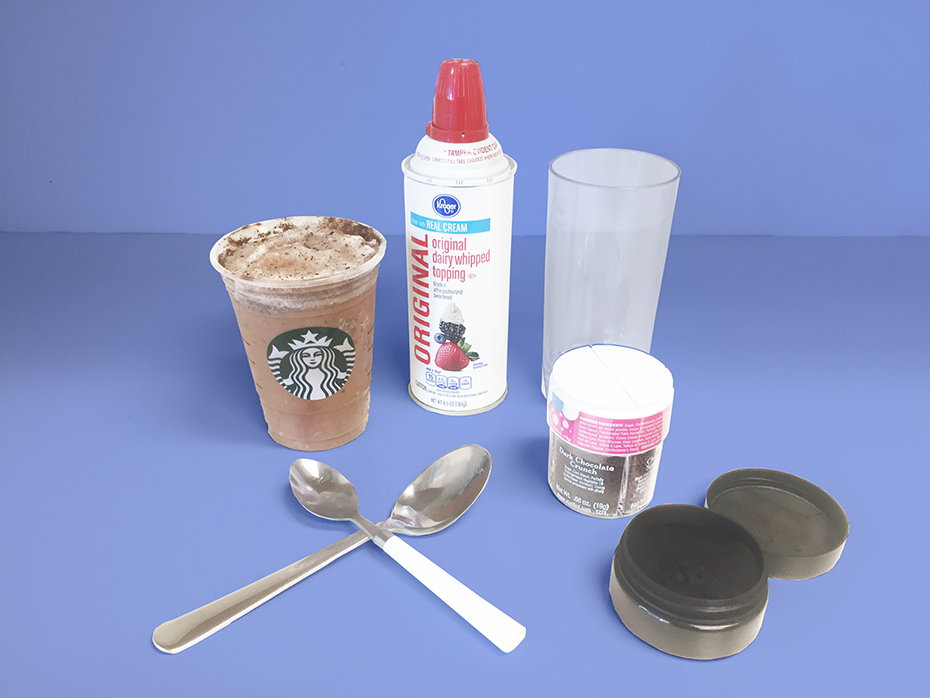Black Starbucks Frappuccino ingredients