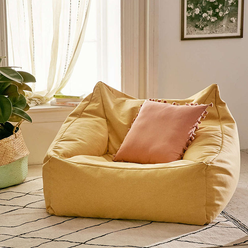 Yellow Cooper Lounge Chair From Urban Outfitters