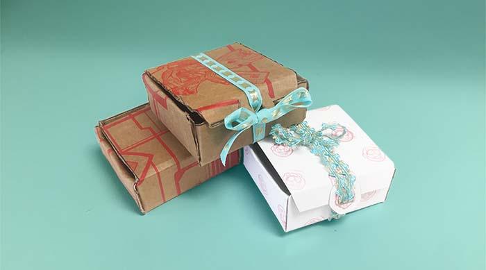 DIY cardboard giftbox DIY