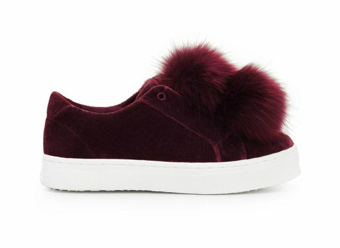 Fur Sneaker from Sam Edelman