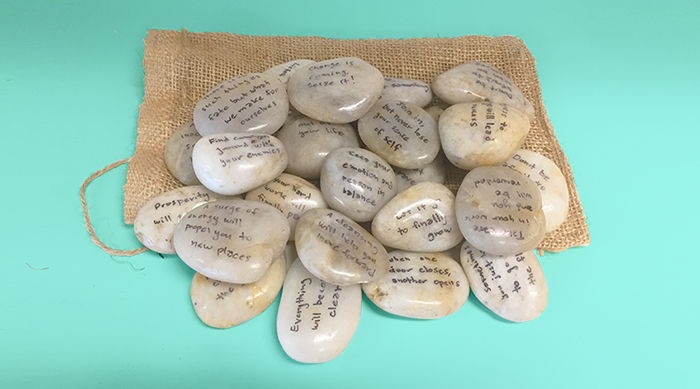 Guidance stones completed