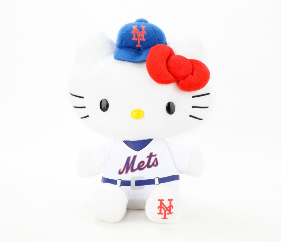 Products from the New Hello Kitty x MLB Collection