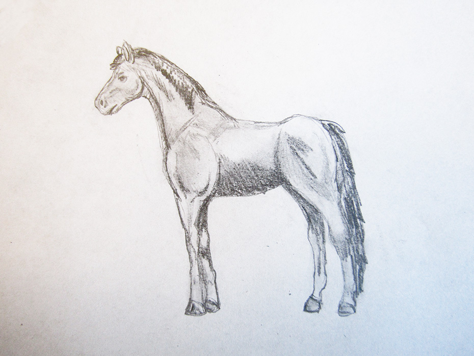 how to draw cool stuff horse step 4