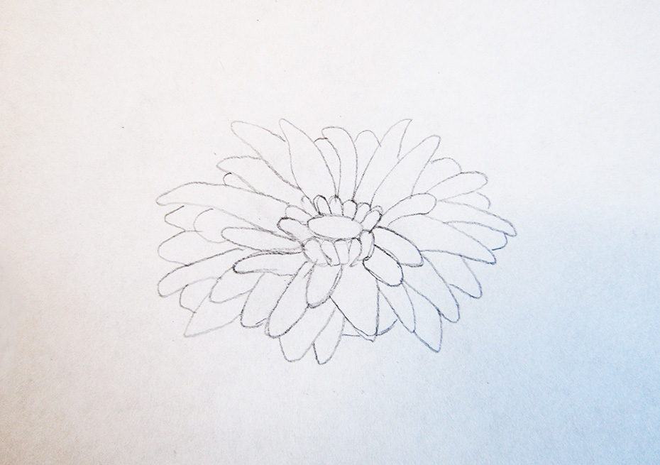 How to Draw Cool stuff flower outline