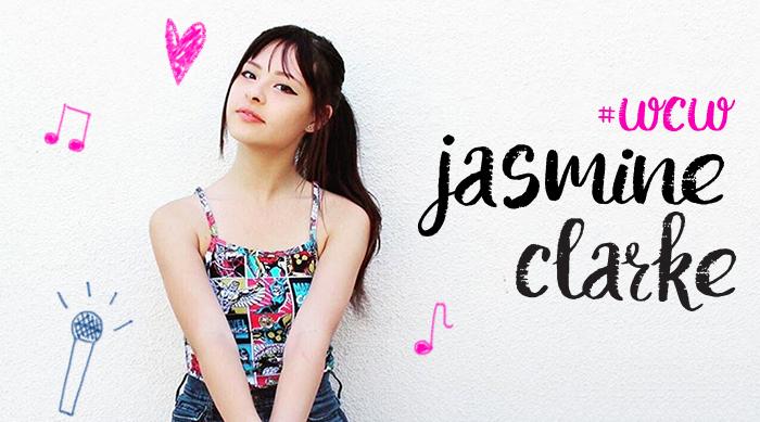 Jasmine Clarke WCW art
