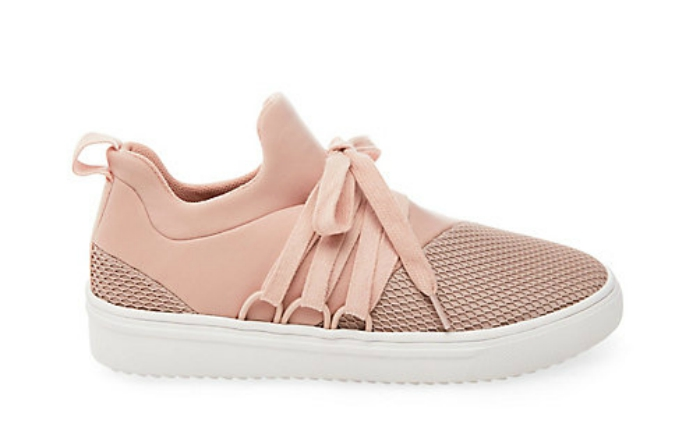 Pink Lancer Sneakers from Steve Madden