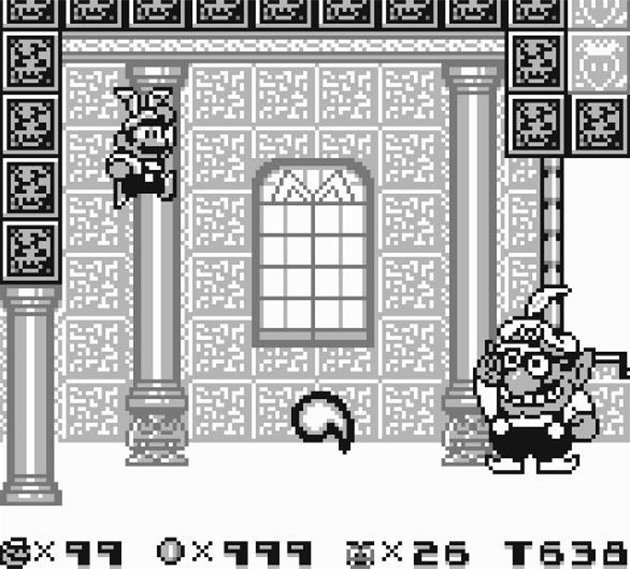 Mario Land 2 Wario Fight