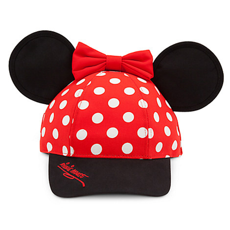Minnie Mouse-inspired dad hat