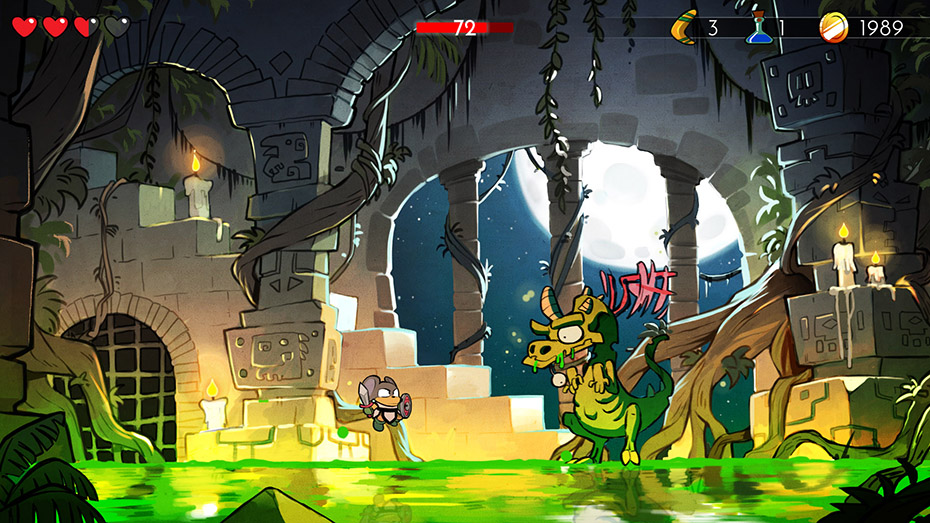 Wonder Boy: The Dragon's Trap mouse