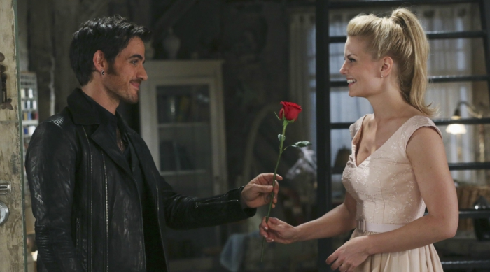 Emma Swan and Hook from Once Upon a Time