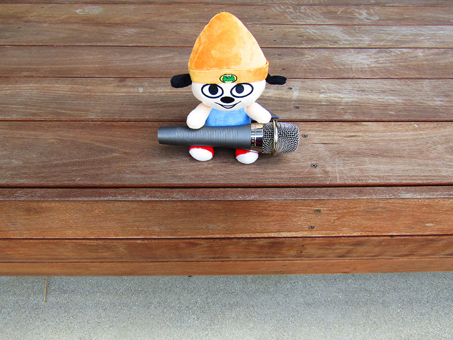 Stubbins plush Parappa the Rapper