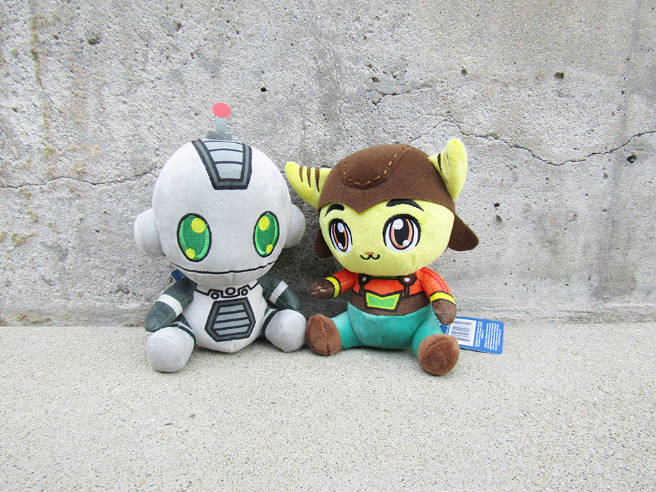 Stubbins Plush Ratchet and Clank