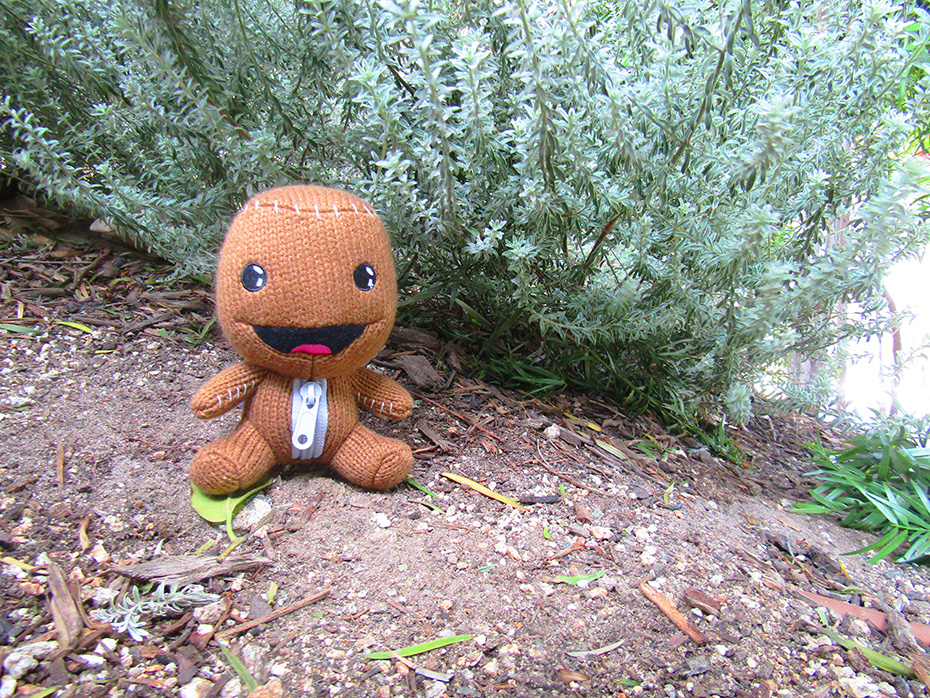 Stubbins Plush Sackboy from Little Big Planet