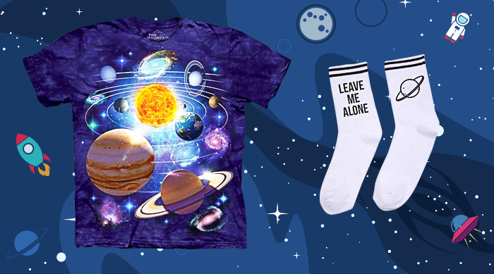 Space clothing items