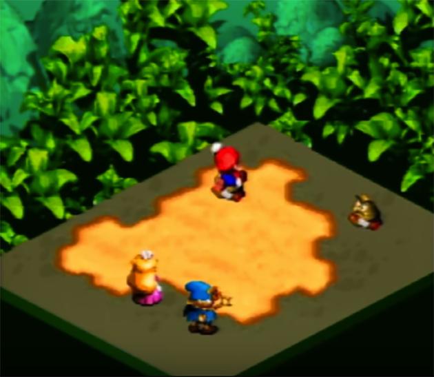 Super Mario RPG jumps