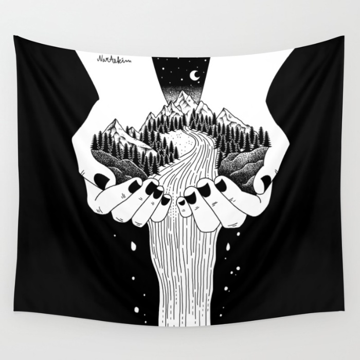 Urban Outfitters Tapestry Moon