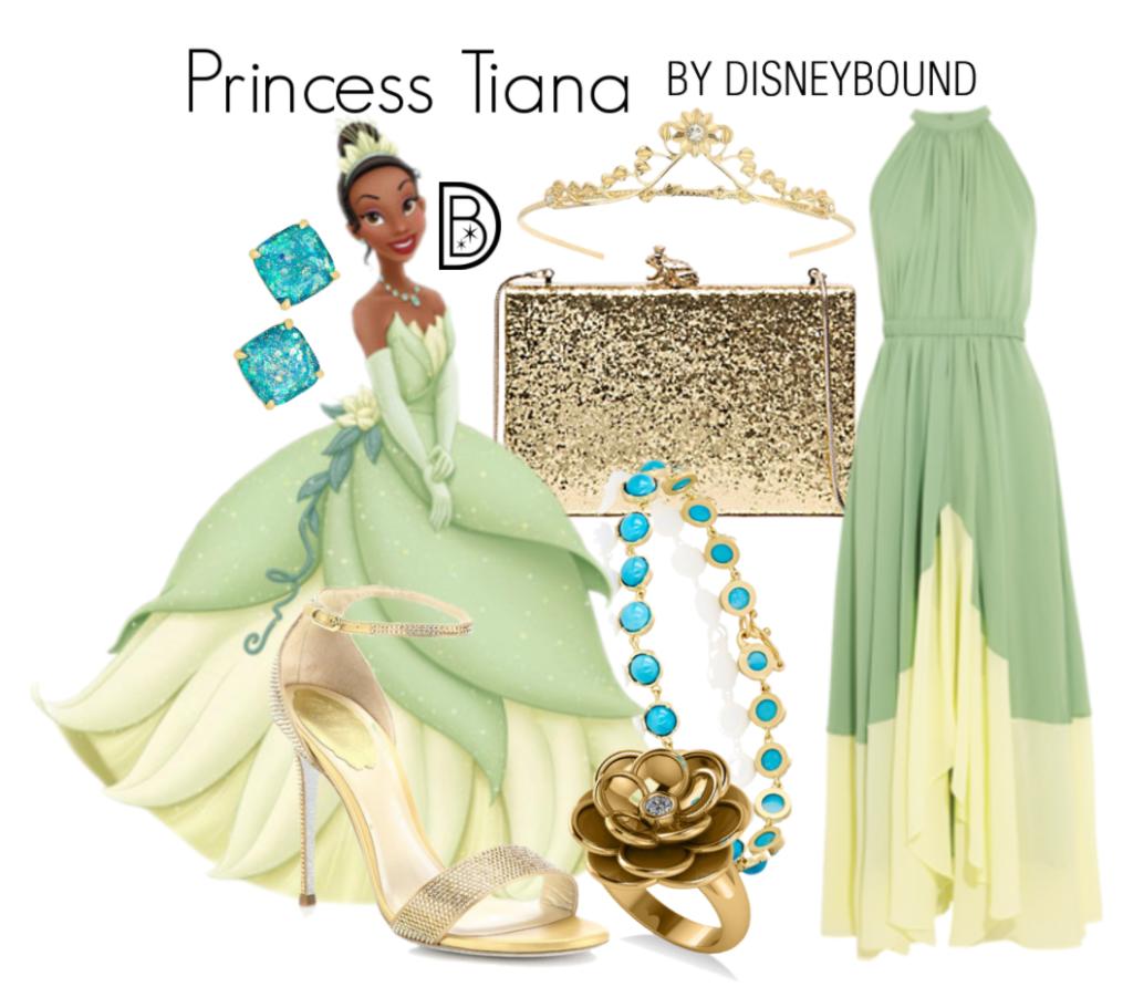 Rapunzel Inspired Prom Dress