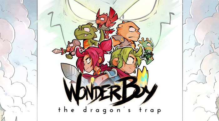 Wonder Boy: The Dragon's Trap cover