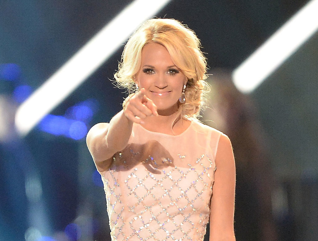 Carrie Underwood On Stage Bullies