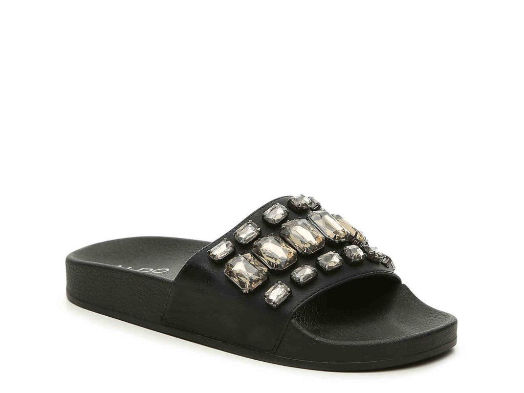 Aldo jewel flat sandal