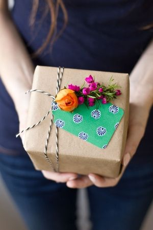Paper Bag Gift Wrapping Paper