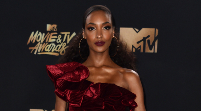 MTV Movie Awards Jourdan Dunn 2017 70s Hair