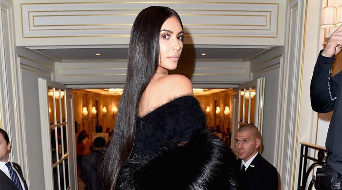 Kim Kardashian West Long Hair Trend NYFW