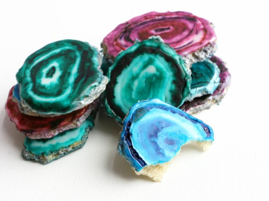 Alana Jones-Mann agate sugar cookies