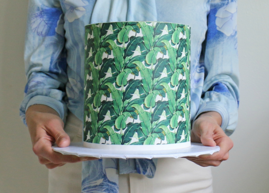 Alana Jones-Mann palm cake