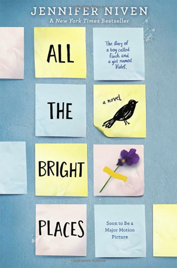 All the Bright Places by Jennifer Niven book cover