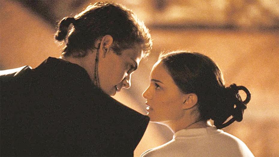 Star Wars: The Clone Wars Anakin Skywalker and Padmé Amidala