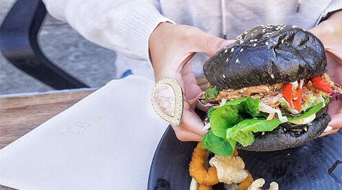 Black Bun Squid Ink Burger