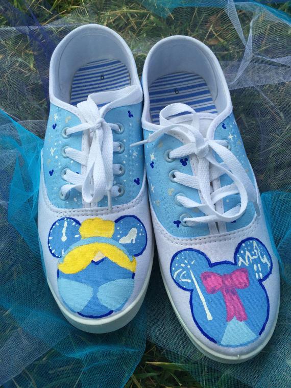 Cinderella Mickeyhead Shoes