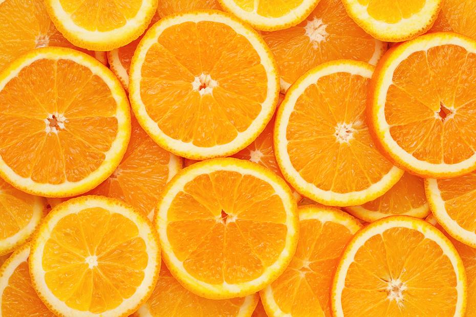 stack or orage citrus slices