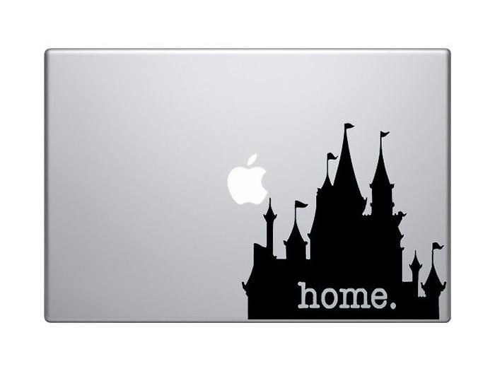 Disneyland home laptop decal