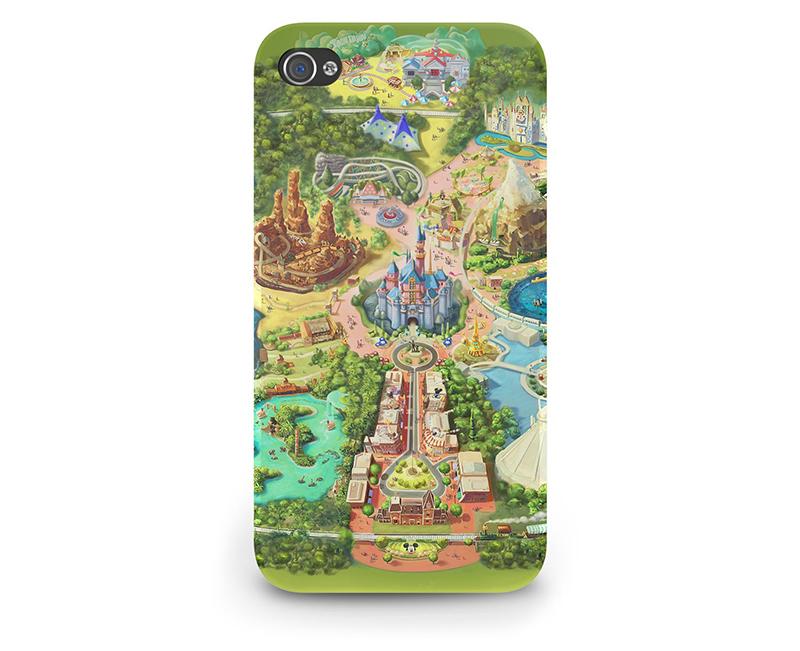 Disneyland map iPhone case