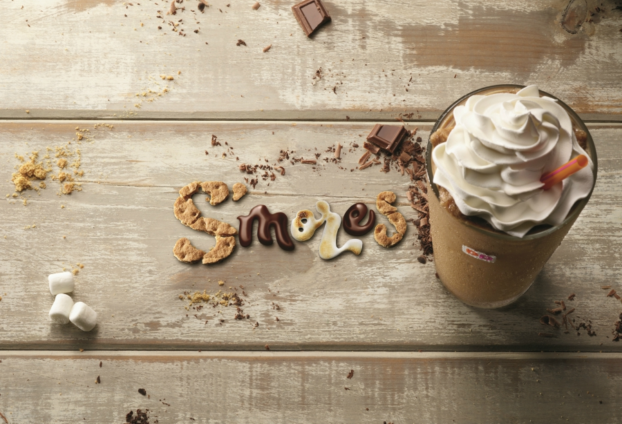 Dunkin' Donuts S'mores Frozen Hot Chocolate