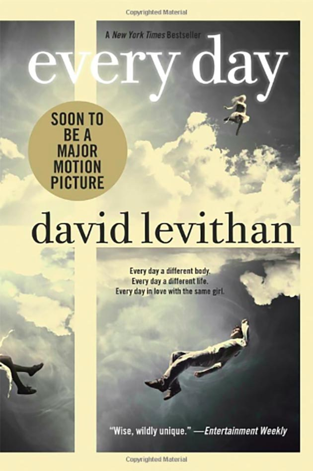 Every Day by David Levithan book cover