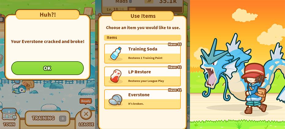 Review Of Pokémon's New Magikarp Jump Training App Mesmerizing Magikarp Jump Patterns