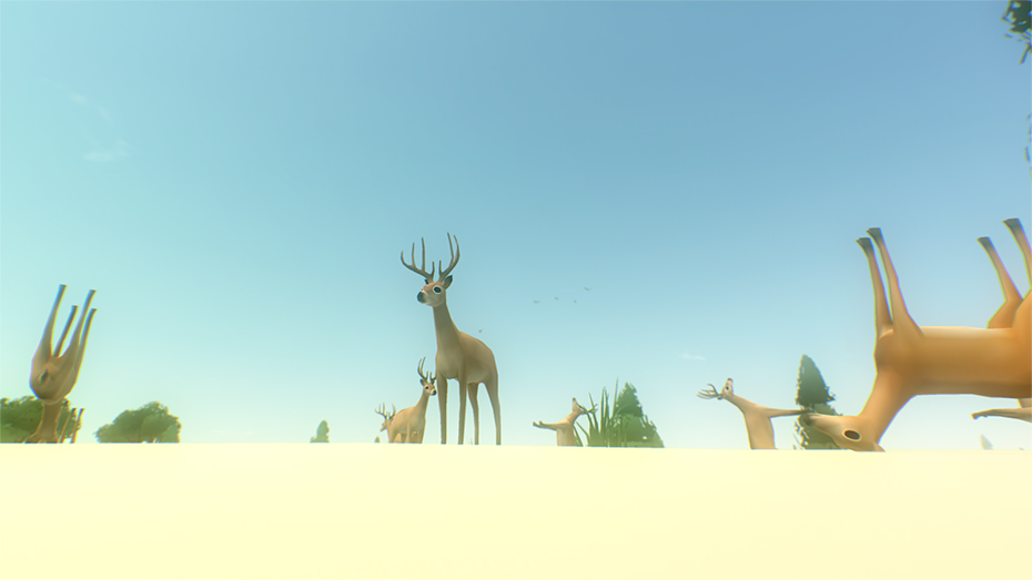 Everything game deer