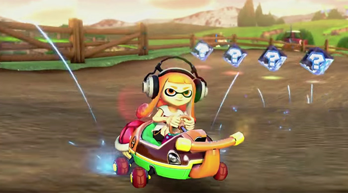 Mario Kart 8 Deluxe for Nintendo Switch inkling girl