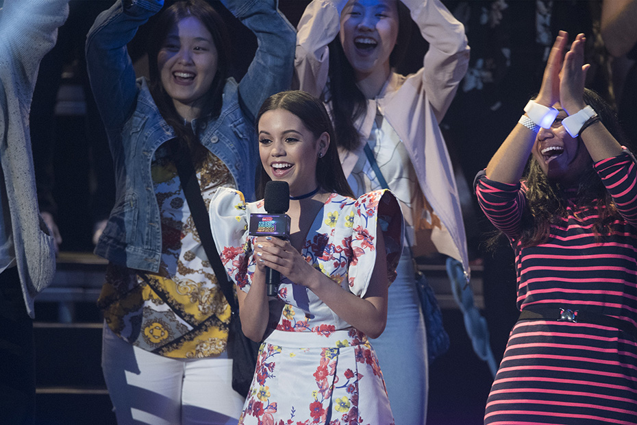 """DISNEY CHANNEL PRESENTS THE 2017 RADIO DISNEY MUSIC AWARDS - Entertainment's brightest young stars turned out for the 2017 Radio Disney Music Awards (RDMA), music's biggest event for families, at Microsoft Theater in Los Angeles on Saturday, April 29. """"Disney Channel Presents the 2017 Radio Disney Music Awards"""" airs Sunday, April 30 (7:00 p.m. EDT). (Disney Channel/Image Group LA) JENNA ORTEGA"""