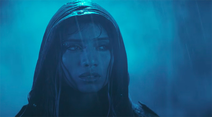 "Pentatonix's Kirstin Maldonado's music video for her solo single ""Break a Little"""