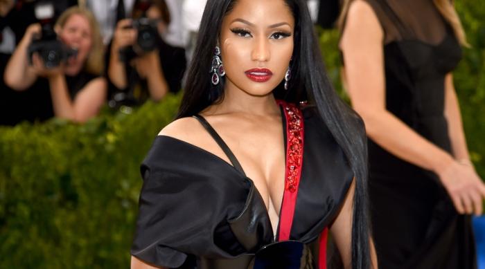 Nicki Minaj wearing H&M at Met Gala 2017