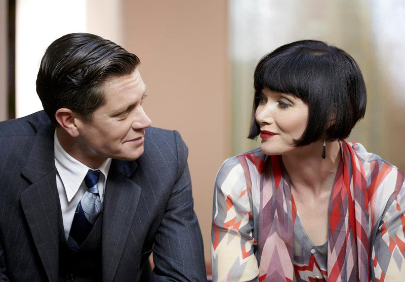 Phryne and Jack in Miss Fisher's Murder Mysteries