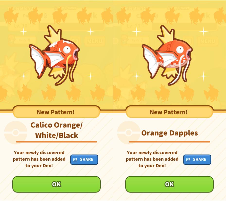Review Of Pokémon's New Magikarp Jump Training App Custom Magikarp Jump Patterns